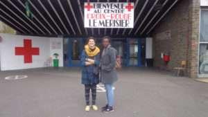chantier JAVVA Belgique centre croix rouge réfugiés