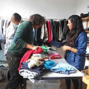 participe à une action de volontariat local en Belgique avec JAVVA