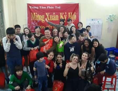 Evelyne, volontaire au Vietnam