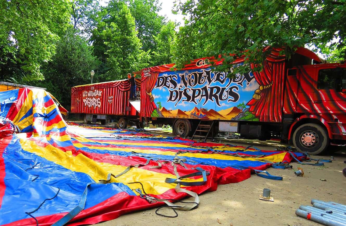 chantier local belgique festival theatre nomade parc royal Bruxelles