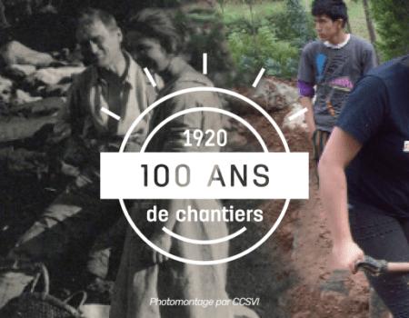 100 ans plus tard, l'esprit du volontariat international est toujours là !